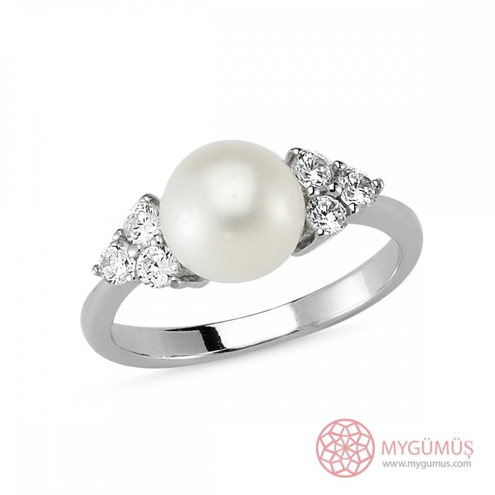 İncili Gümüş Mini Set MY101147 8289 Thumb