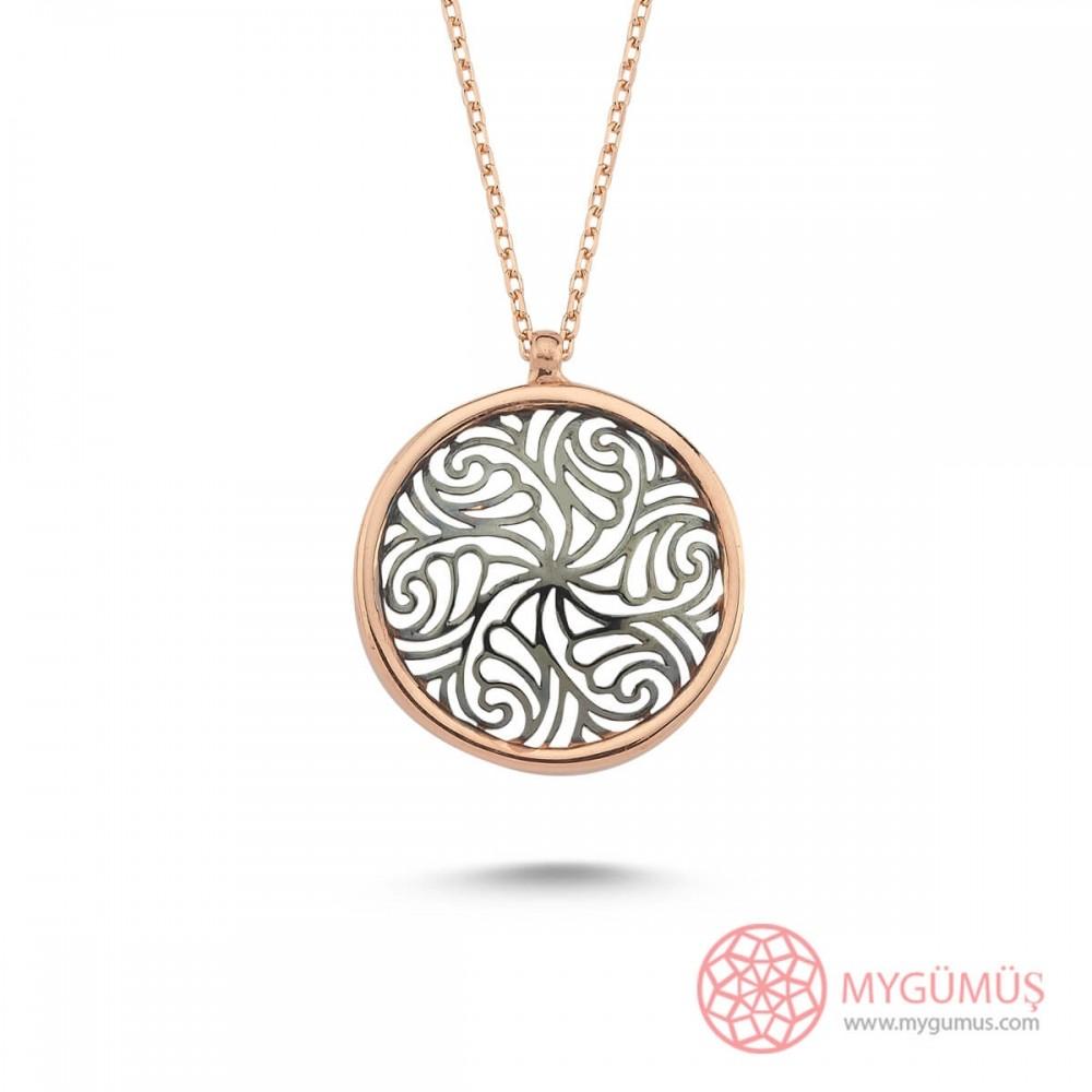 Yaşam Çiçeği Gümüş Kolye MY101852 10593 Thumb