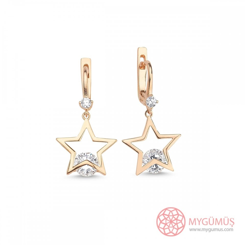 Yıldız Tektaş Gümüş Küpe MY101614 9981 Thumb