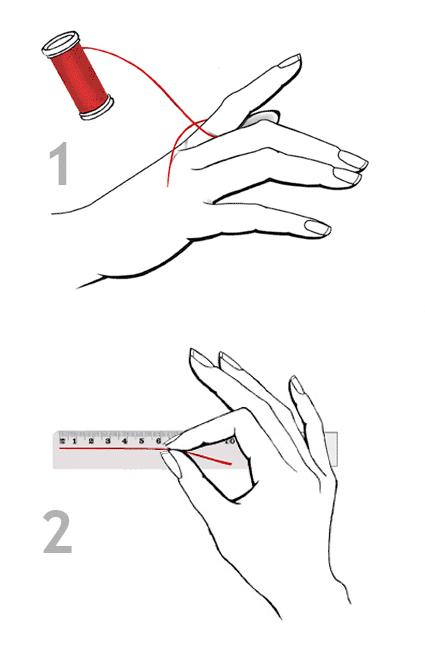 Yüzük Ölçüsü Nasıl Alınır 2